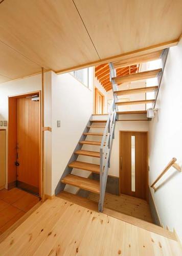 006 玄関・階段